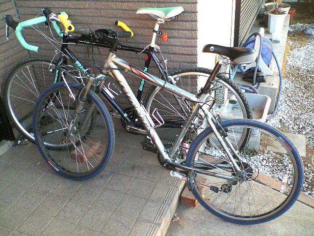 自転車を効率よく置く方法