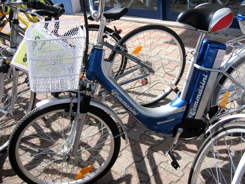 tommasiniはママチャリや電動アシスト自転車も売っていたようだ