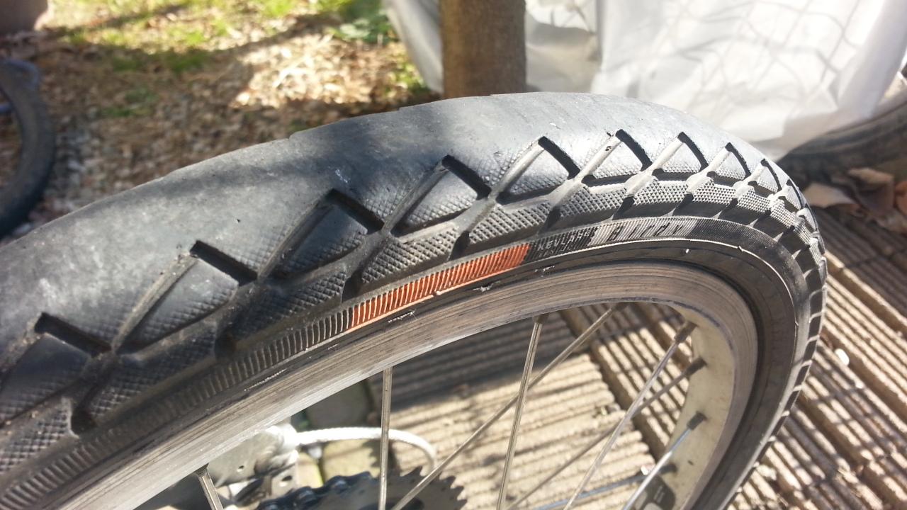 自転車の 自転車のタイヤ交換 自分で : 高いタイヤと安いタイヤの ...