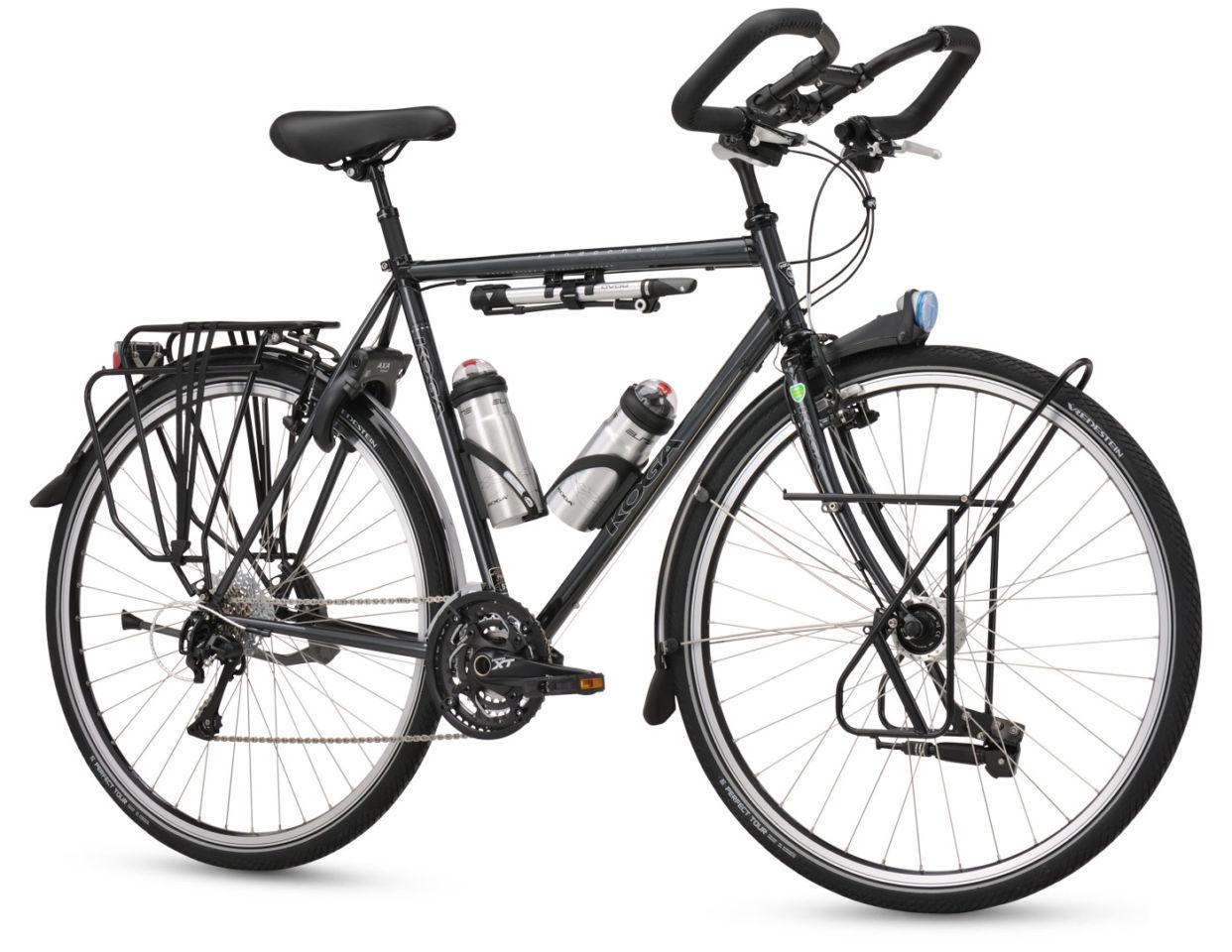 自転車の本場、ヨーロッパ圏の旅する自転車 Koga Randonneur