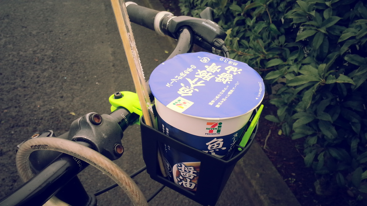 500ml紙パックに使える街乗り用ドリンクホルダー OGK・PBH-003