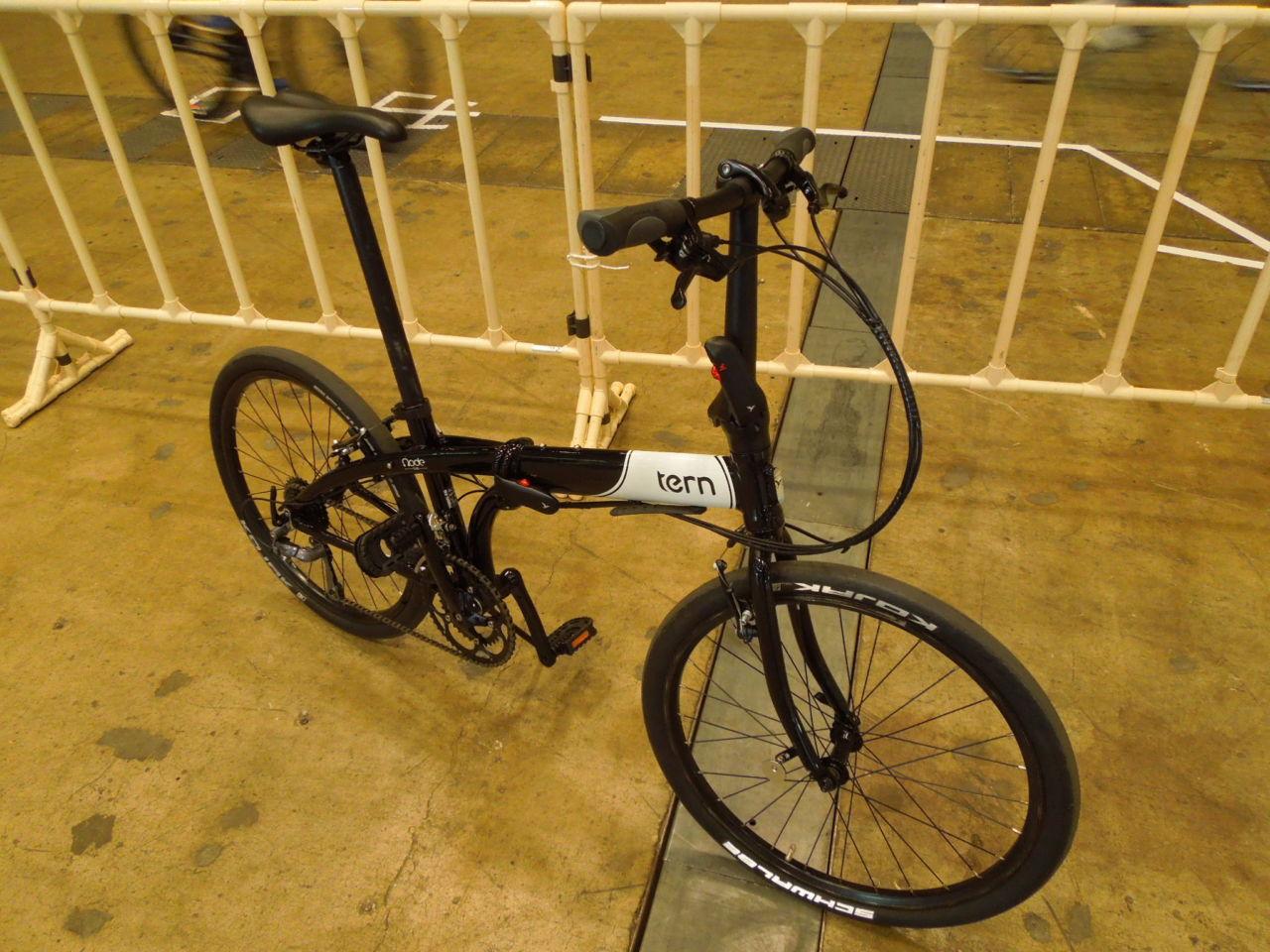[自転車試乗]20インチと24インチの差を実感させられる Tern Node D16