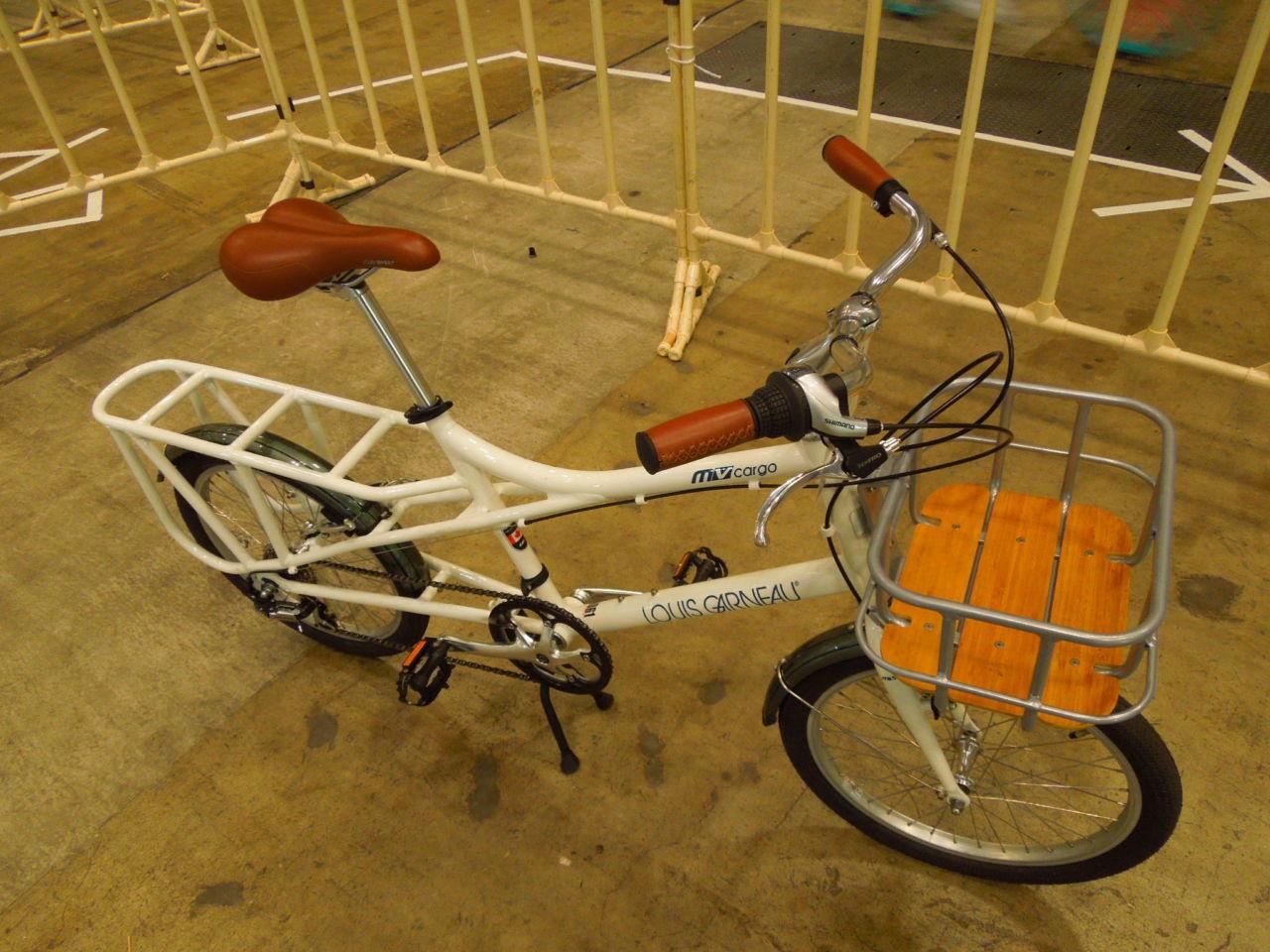 実用性が高い小径ロングテールバイク LouisGarneau LGS-MV CARGO