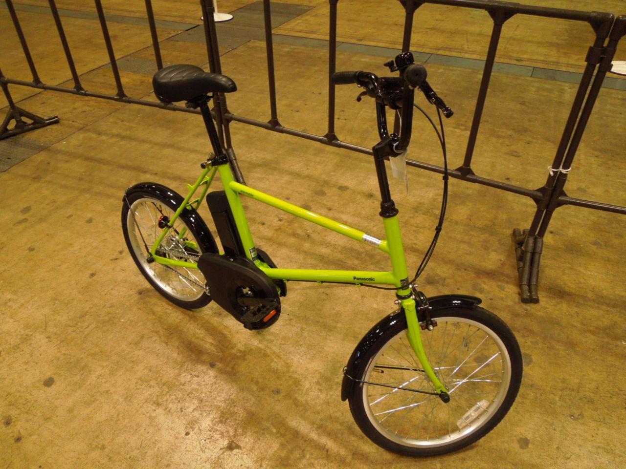 街乗り用に割り切った電動アシスト自転車 Panasonic ene mobile S