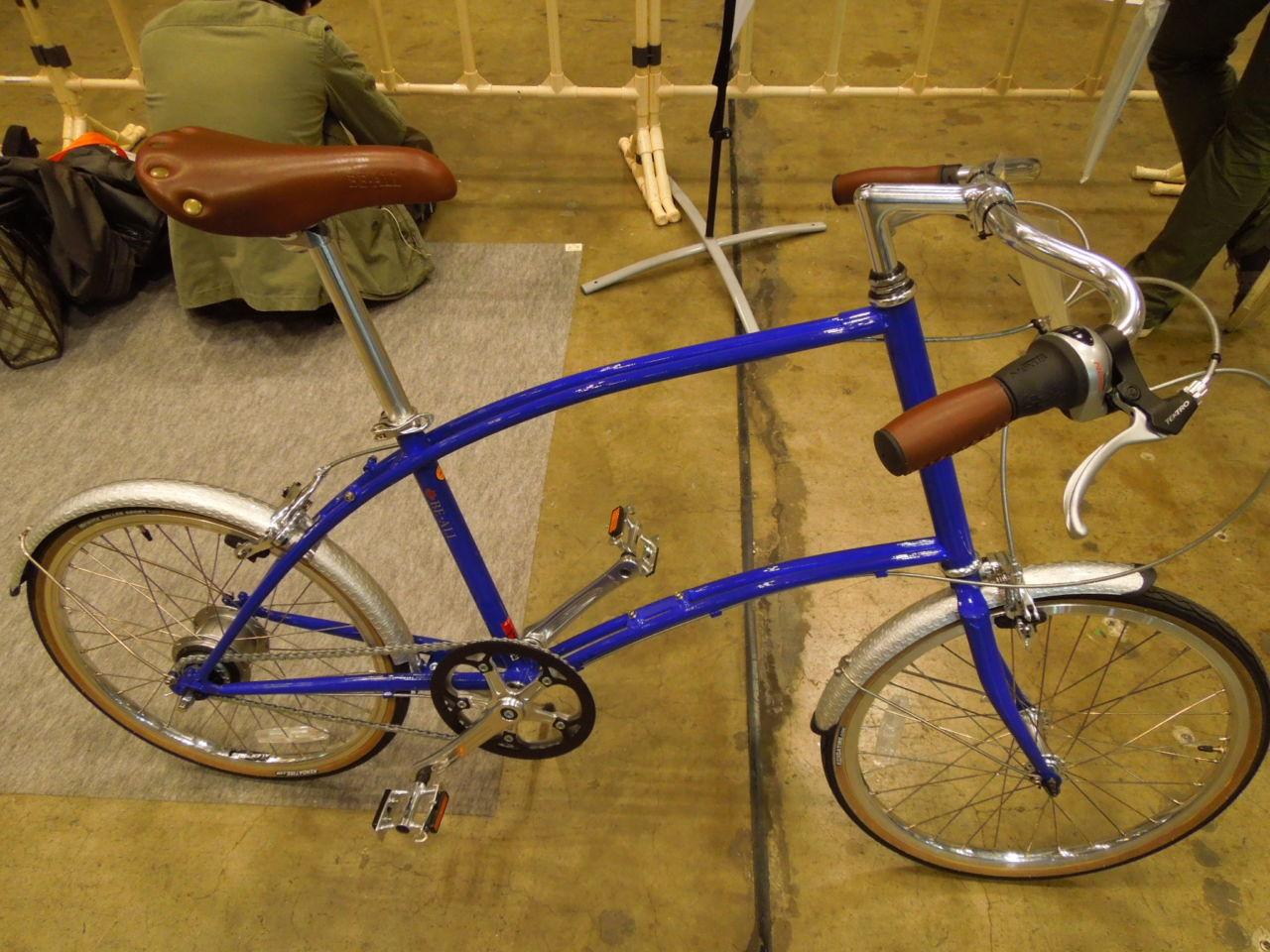 サイクリングにも使える内装8段変速小径車 BE-ALL BT20-8