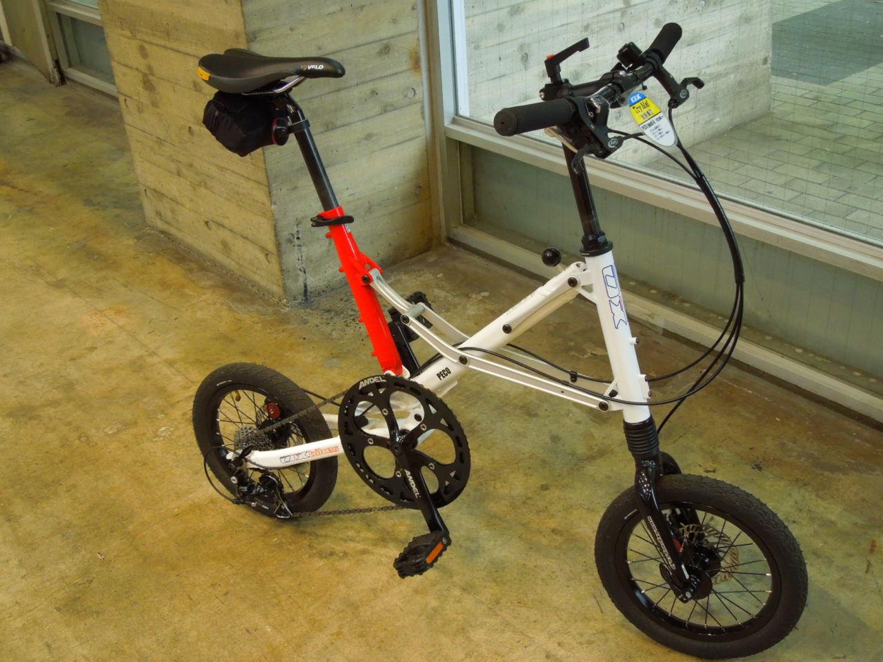 速すぎる超小径折りたたみ自転車 OX Bike Peco pocchi-9s
