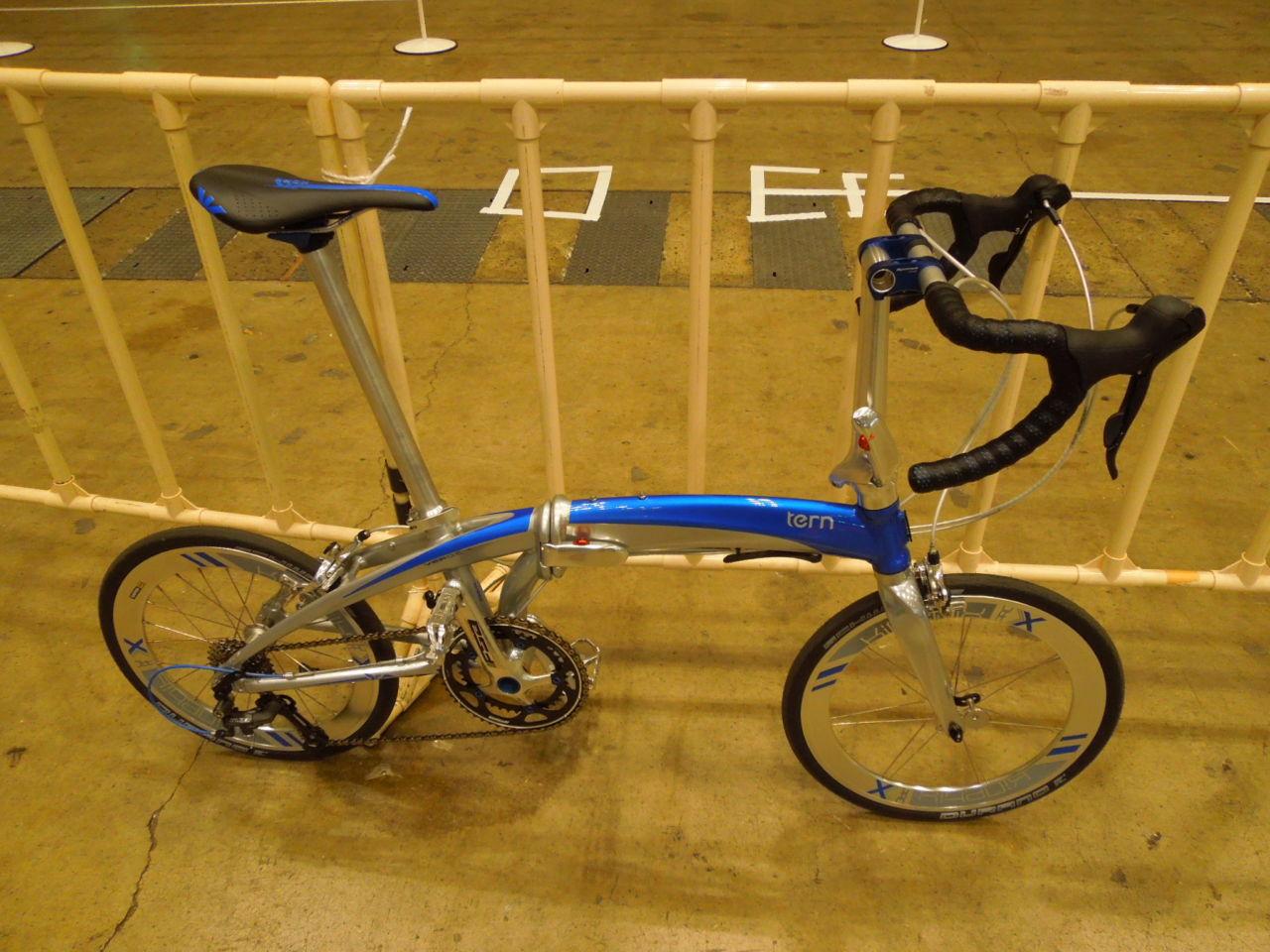 純正カスタムバイクと言える存在の折りたたみロードバイク Tern Verge X18