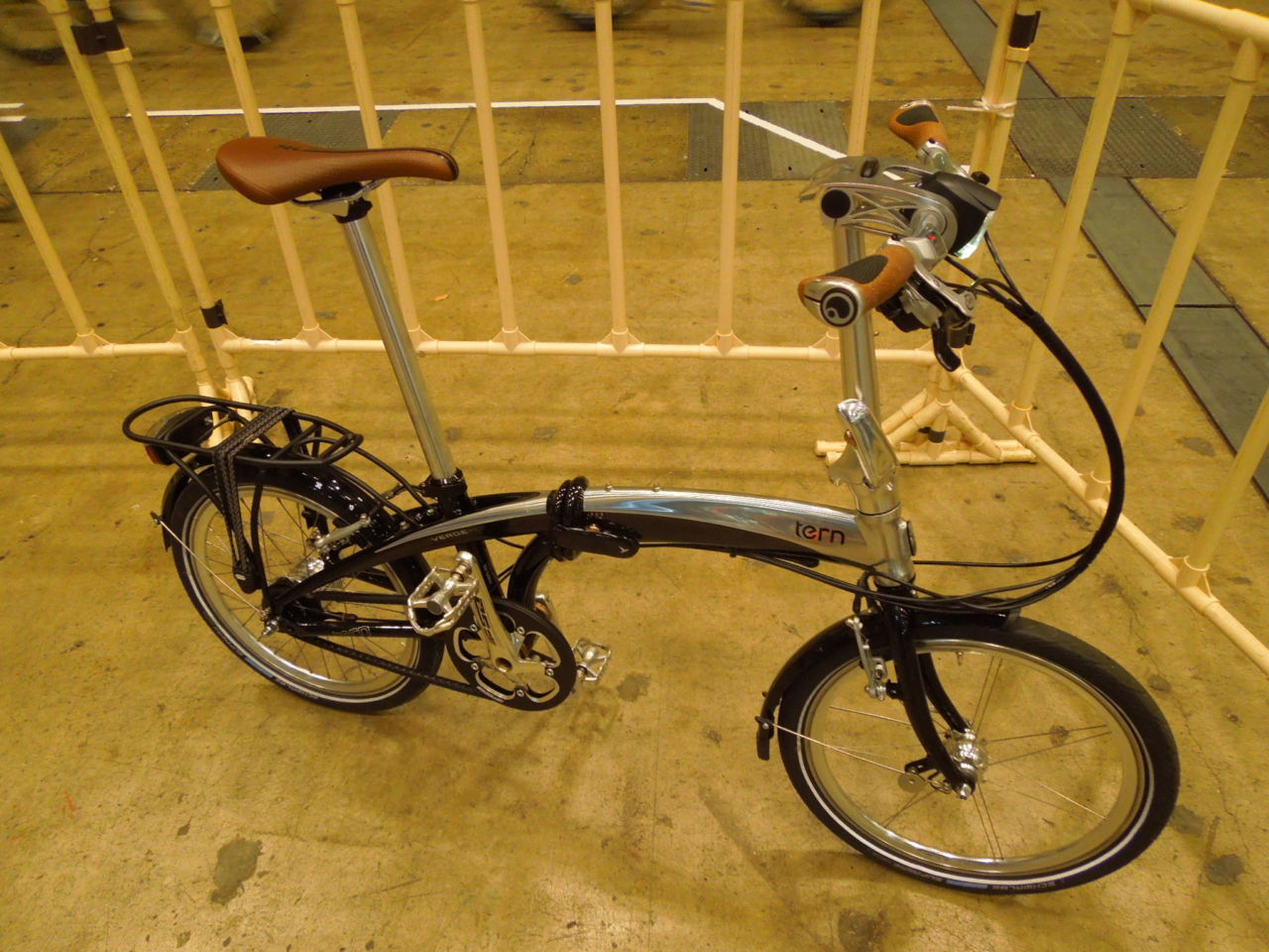 高級折りたたみ自転車と言える自転車 Tern Verge S11i