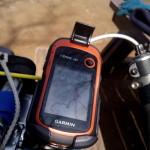 Garminオプションのマウントよりもガッチリしている eTrexXシリーズ用自転車用RAMマウント