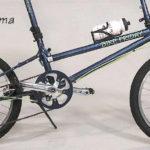 驚きの制限体重150kgの折りたたみ自転車 Bikefriday Diamond Llama
