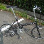 DAHONやTernの折りたたみ自転車とは思想が異なるKHSの折りたたみ自転車
