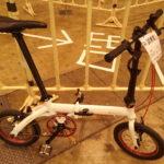 14インチ折りたたみ自転車 RENAULT ULTRA LIGHT7とDAHON DOVEを比較する