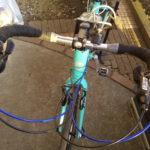 クロスバイクをブルホーン化することができるハンドル 日東 RB006