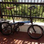 折りたたみ自転車 Tern Link N8のタイヤを太くした。タイヤを太くした効果はあるか?