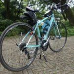 自転車の軽さは走行中よりも押している時が重要になる