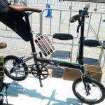 ハリークインからクロモリフレームの14インチ折りたたみ自転車が登場か?