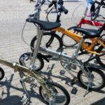 車体重量6.97kgの14インチ折りたたみ自転車 Dahon Dove Plus