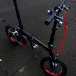 14インチ折りたたみ自転車 Renault Ultra Light 7を導入