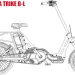 前2輪タイプ3輪電動アシスト自転車「TOYODA TRIKE」の詳細スペックが公開された