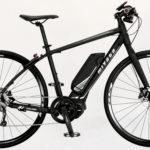 シマノ製電動アシストユニットを搭載した電動アシストクロスバイク「ミヤタ・CRUISE」